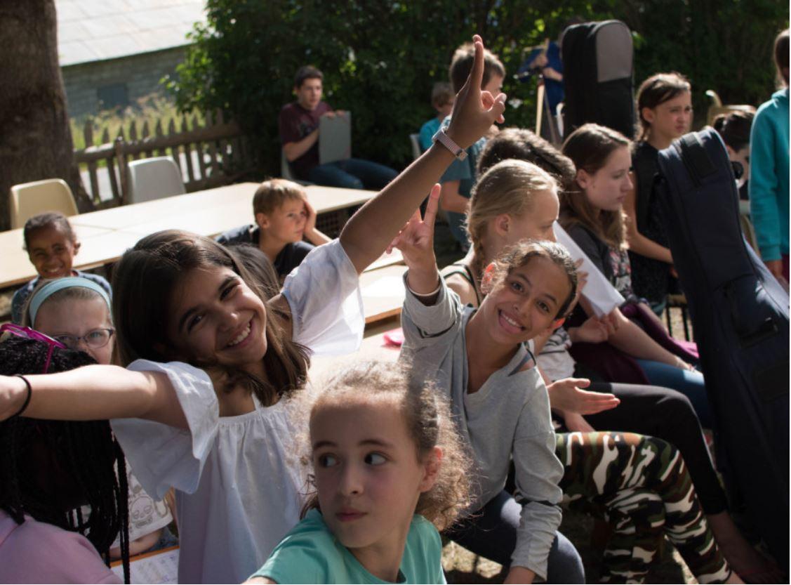 séjour enfants stage vacances musique montagne