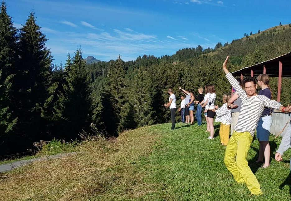 vacances stage musique montagne activités