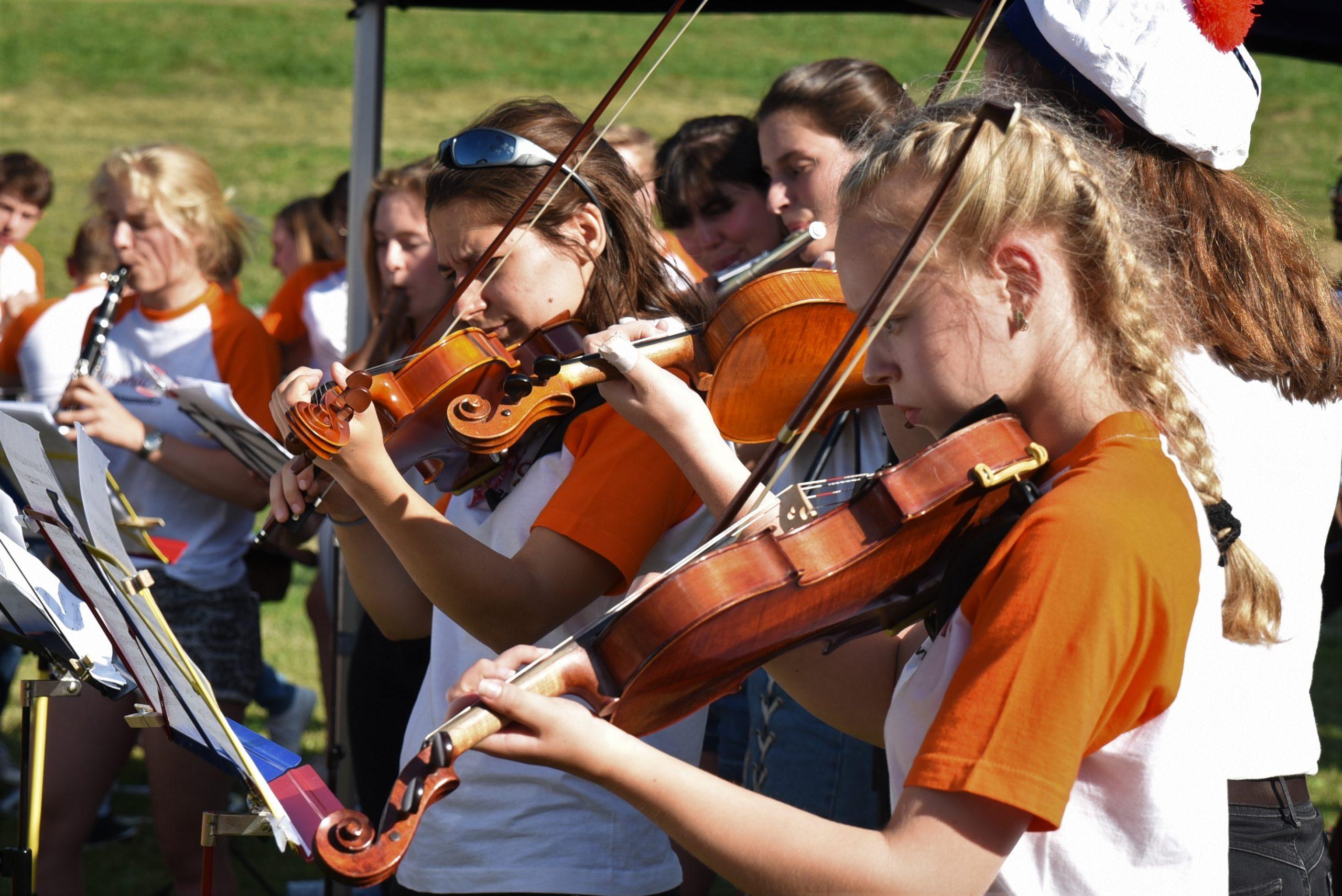 violon jouer stage musique plaisir vacances